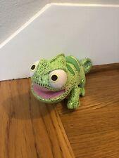 "The Disney Store Tangled Rapunzel 9"" Plush Green Chameleon Lizard Pascal Euc"