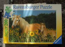 Ravensburger Puzzle Pferde Haflinger 200 Teile, gebraucht