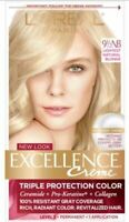 L'Oreal Excellence Creme Permanent Hair Color 91/2 NB light Blonde + Collagen