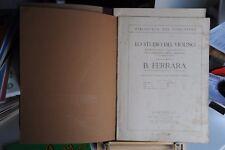 B. FERRARA - LO STUDIO DEL VIOLINO LIBRO UNO - SPARTITI MUSICALI