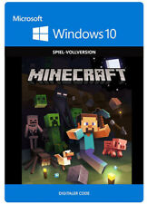 Minecraft - Windows 10 Edition [EU/DE] CD Key PC Spiel Download Code NEU
