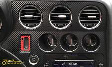 alfa romeo 159 brera adesivi sticker decal consolle centrale tuning carbon look