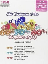 Hit Explosion of the 60's / 70's /80's: 30 Years of Pop - 160 Classic Tracks NEU