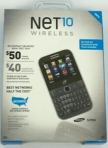 NEW & SEALED NeT10 SAMSUNG S390G Cell Mobile Phone QWERTY Keybd Wi-Fi Bluetooth