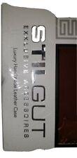 Stilgut Sony Experia Z1 Luxury Handmade Brown Leather Case