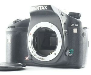 NEAR MINT PENTAX K20D 14.6MP Digital SLR Camera w/ SD2GB 18,649 Shots From JAPAN