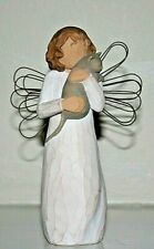 "Willow Tree ""With Affection"" girl with cat Susan Lordi 5 inches tall 2003"