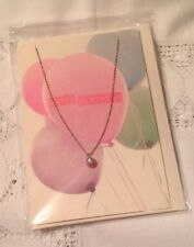 ORELIA SWAROVSKI CRYSTAL PENDANT NECKLACE BIRTHDAY GIFT CARD JEWELLERY~8231~