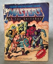Masters of the Universe He-man and the Power Sword mini comic book 1981