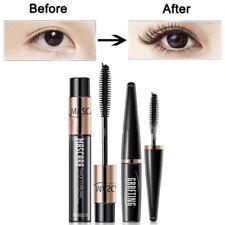 Womens 4d Silk Fiber Eyelash Mascara Extension Waterproof Kit Eye Lashes Hot