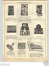 1951 PAPER AD Blue Willow Toy Tea Sets Circus Renewal Doll House Furniture