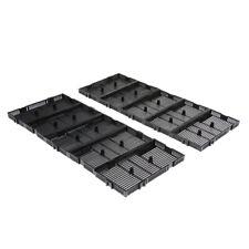 Aquarium Undergravel Filteration Under Gravel Filter Tank 10 Pack Black