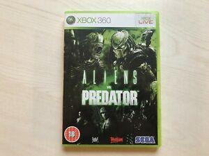 Aliens Vs Predator Xbox 360 Game UK PAL USED