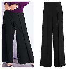 Kaleidoscope Ultra Wide Leg TROUSERS Size 14 Stylish Flattering Occasion £49