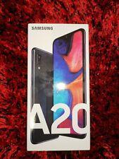 "NEW Samsung Galaxy A20 2019 [32GB/3GB 4G LTE 6.4""] Black Unlocked [Aussie Stock]"