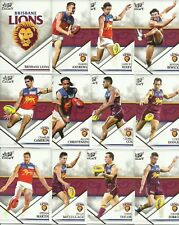 2018 select LEGACY SERIES 2 BRISBANE LIONS COMMON TEAM SET 12 cards AFL