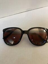 New listing Vintage Ski Optics 099 Brown Black Oval Sunglasses France