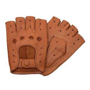 Weikert-Handschuhe - Exklusive Auto-Handschuhe aus Peccary Leder , Fingerlos