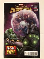 Contest of Champions #5 Ewing Marvel Comic 1st Print 2016 NM