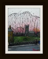 Rook Wood @ The Church :  Original BEST Oil Painting  Famous Artist James Downie