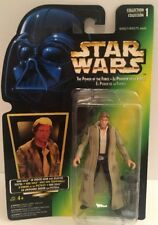 Vintage 1996 Kenner Star Wars HAN SOLO Power Of The Force Action Figure NEW