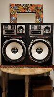 Sansui SP-Z77 4-Way 4-Speaker System Rare Excellent Condition WORKS Vintage