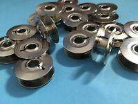 20 Nähmaschinen Umlaufgreifer Spulen Metall für Pfaff Dreiteilig wie 1222,1221