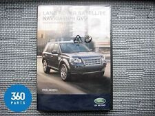 NEW GENUINE LAND ROVER FREELANDER 2 LR2 SAT NAV DISC SOFTWARE 2010 - 2011