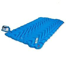 Klymit Double V Inflatable Sleeping Mat Pad Camping Hiking