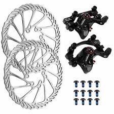 MTB Road Bike Bicycle Mechanical Disc Brake Set with Caliper & Rotor 160mm +Lock