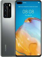 "Huawei P40 5G UNLOCKED 8GB RAM 128GB ROM 6.1"" 50MP +Wireless Charging Case"