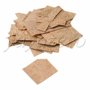 Wood Cork Sheet  irregular 0.5mm/0.8mm/1mm for Bassoon Oboe Clarinet Piccolo