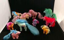 Vintage LOT(10) 1982-2008 My Little Pony G1 Hasbro, Remco MLP Newborn