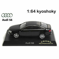 Black Kyosho 1:64 AUDI S6 Diecast Model Car Mint 1/64 2007 limited edition