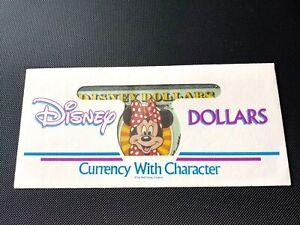 Minnie Mouse Disney 10 Dollar 1998 Series Disneyland Very Rare Vintage F/S
