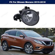 Clear Lens Front Bumper Light Fog Lamp Left For Nissan Murano 2015-2018