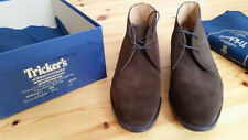 Trickers Chukka Boot Guildford suede UK 8,5 42,5 braun Crockett