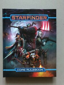 Starfinder core rulebook hardcover - BRAND NEW Never read