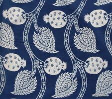 10 Yard Hand Block Print 100% Cotton Natural Tie Dye Running Sanganeri Fabric