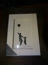 Demdaco Sharon Nowlan Framed  Wall Art, Big & Little Adult & Child Dancing