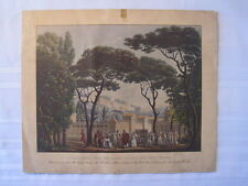 Sacred Forest Near the Flamin College and Vesta Temple Print - La Scala Theater