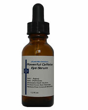 Powerful Caffeine Eye Serum for Dark Circles, Bags & Repair Wrinkles 1.2 oz