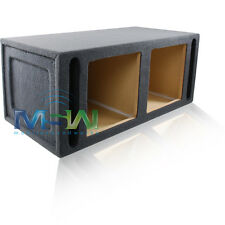 "12"" VENTED MDF SUBWOOFER ENCLOSURE BOX for (2) KICKER® S12L3 S12L5 S12L7 SUBS"