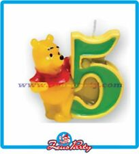 COMPLEANNO  party CANDELINA WINNIE THE POOH N 5 CANDELA Festa