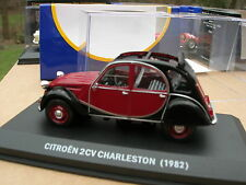 1/43 IXO CITROEN 2CV CHARLESTON DECOUVERTE 1982!