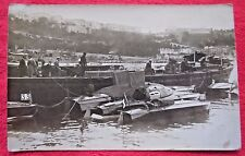 Race Boats France Rppc Real Photo, 1920's-30's
