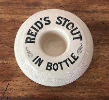 Victorian Irish Reid's Stout in Bottle ~ Match Strike Nineteenth Century
