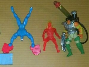 Lot of 5 1990s McDonalds Taco Bell Kids Meal Toys Free Shipping