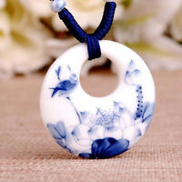 Fashion Ceramic Necklace Pendants Vintage Handmade Gifts For Lovers Chic Jewelry