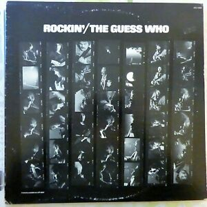 THE GUESS WHO LP ROCKIN' 1972 USA VG+/VG++